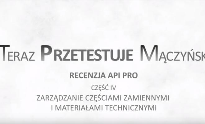 TPM-API PRO czesc IV