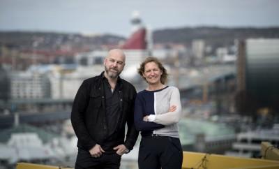 GÖTEBORG 2018-04-10 Findwise. Kenneth Karlsson och Catarina Gunneberg. Foto: Björn Larsson Rosvall / TT / kod 9200